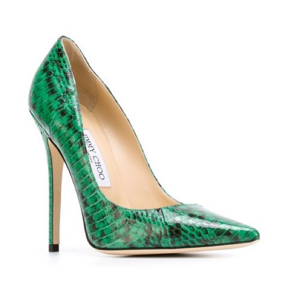 2739f626a188 Jimmy Choo Shoes - Green Jimmy Choo  Anouk  pumps LIKE NEW CONDITION
